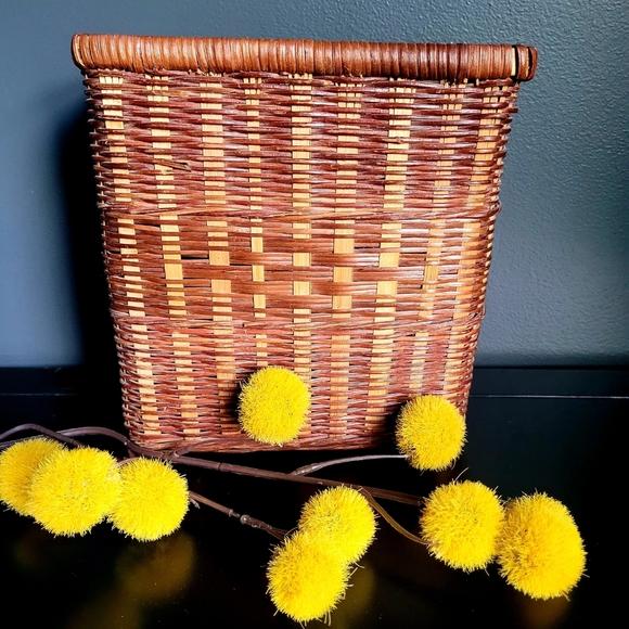 Fall wicker basket